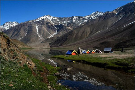 Lahaul, the Camping Paradise
