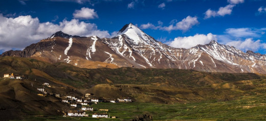 The Beautiful Lahaul Valley