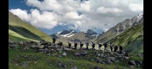 Trekking in Lahaul