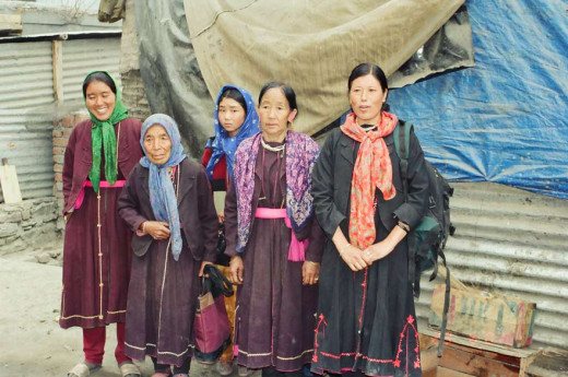 The women of Lahaul