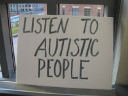 Autistic people have no voice in the media