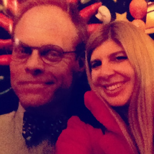 """People were taking """"pictures with Alton"""" in the lobby of the Fox Theater.  Kind of goofy but very fun!"""