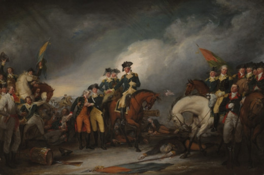 Capture of the Hessians at Trenton, by John Trumbull (1756–1843)