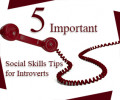 5 Important Social Skills Tips for Introverts How to Succeed in an Extroverted World