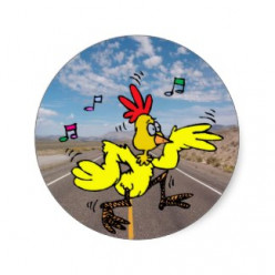 Can a chicken cross the road without it's motive being questioned?