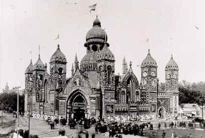 The Sioux City Corn Palace, circa 1890.