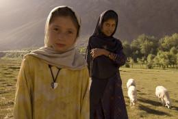 Shepherd girls in Pakistan.