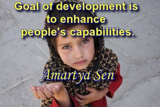 Capacity building is the most sustainable anti-poverty strategy.