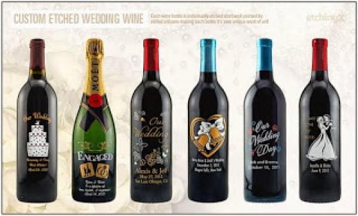 Wedding Wine for shopping