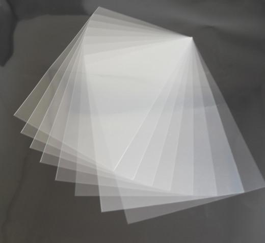 Laminator sheets