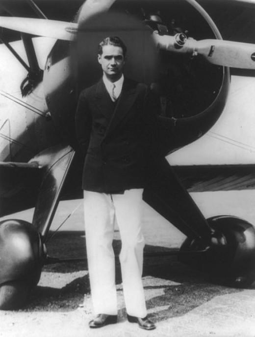 The real Howard Hughes.