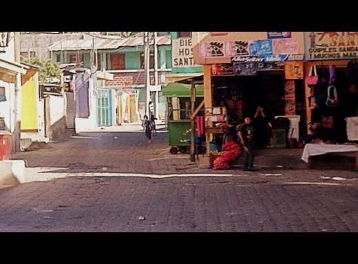 Kids on the streets of Santa Catarina