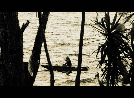 Fishing in San Marcos