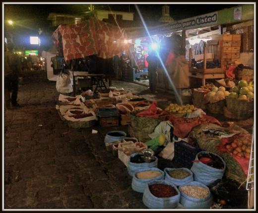 Night markets, San Pedro