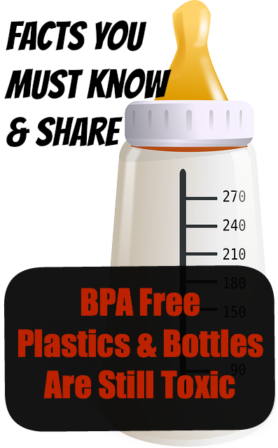 BPA Free Products Are Not Necessarily Safe
