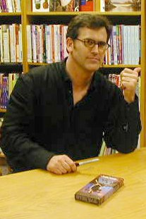 Bruce Campbell could portray Elvis again.