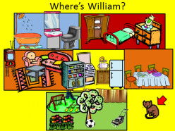 English Lessons Through Games: Where's William?