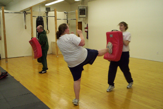 """Krav Maga Stomp Kick OR Self-Defense & Fitness 7"" by Rosey-OR (CC BY 2.0) via Flickr Creative Commons"