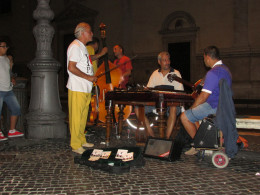 Beautiful music in Piazza Navona, Rome.