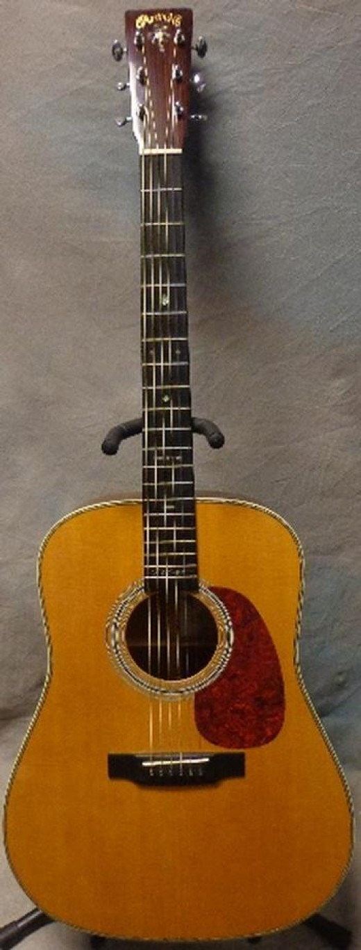 Now that is a guitar to make every one of your friends jealous!