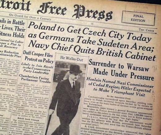 1938 headlines