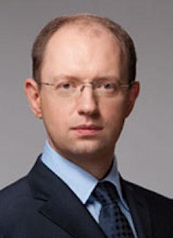 Interim Ukrainian Prime Minister Arseniy Yatsenyuk