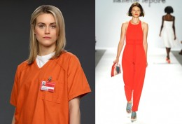 Orange is the New Black for Spring Fashion 2014