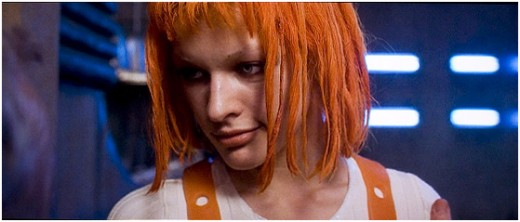 Leeloo in The Fifth Element