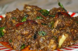How to prepare Chicken With Kanthari Chilly