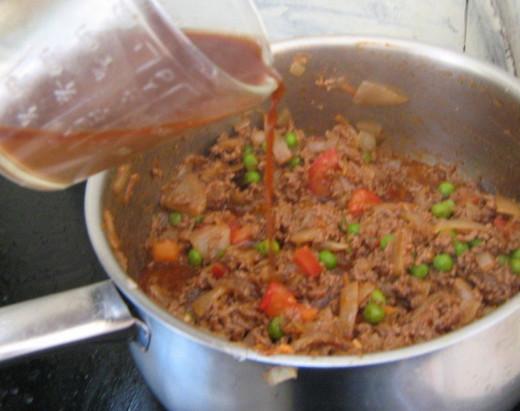 Ground Beef  Mince Stew Recipe