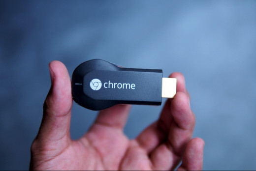 Google Chromecast is really small