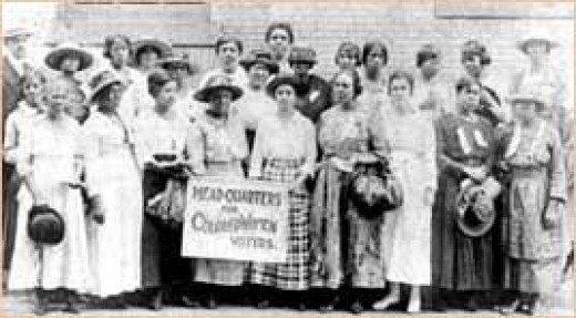 Black Women's Suffrage should have connected with other women but race and violence kept them apart.