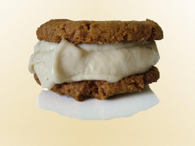 Tasty Sandwich with icecream