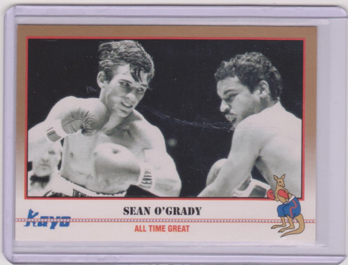 Sean O' Grady was a former lightweight champion of the world and a commentator for Tuesday Night Fights on the USA network.