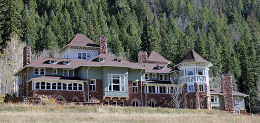Osgood Castle In Redstone Colorado Is Said To Be Haunted By Its Builder.