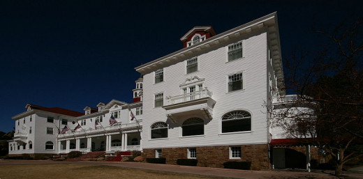 The Stanley Hotel is a 140 room hotel in Estes Park Co.