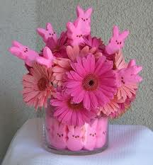 Add bunnies to your floral arrangement at Easter