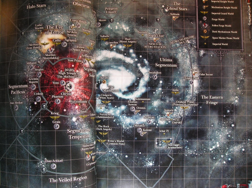 Imperial Knights Map