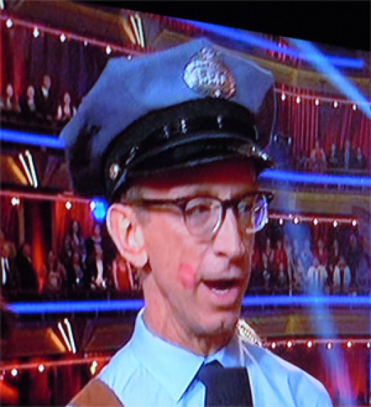 Andy Dick as a cop in Dancing with the Stars