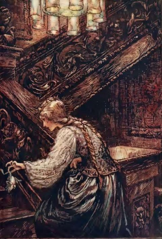Illustration by Arthur Rackham (1867-1939)
