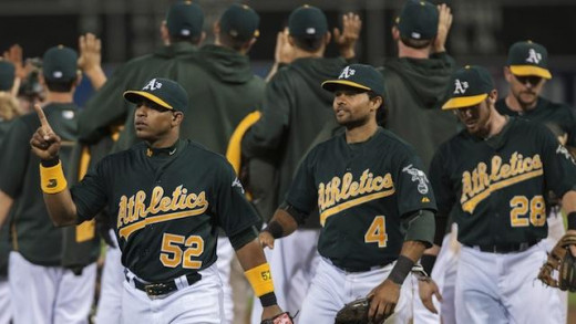 The Oakland A's lack big names and stars, but they make up for it with young players and determination to win.