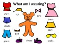 English Lessons Through Games: What am I wearing?