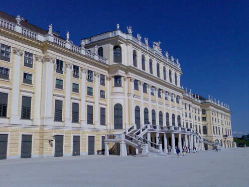 Beautiful Belvedere Hotel in Vienna