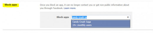 Step 3 to block Candy Crush Saga requests