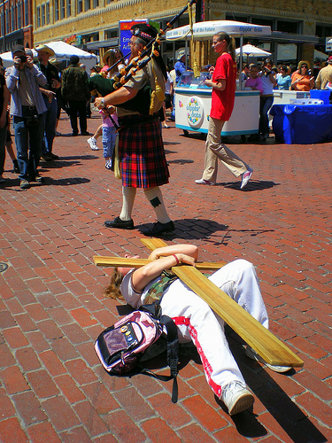 Religious Demonstration from S. A. S. flickr.com