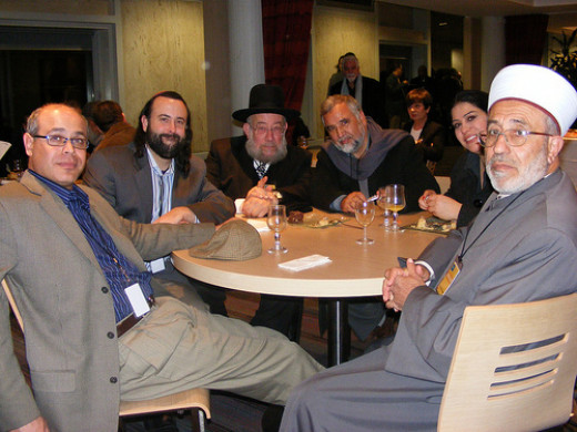 Religious leaders working for peace, justice from Eliyahu McLean flickr.com
