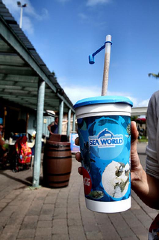 Theme Park Drink Sea World