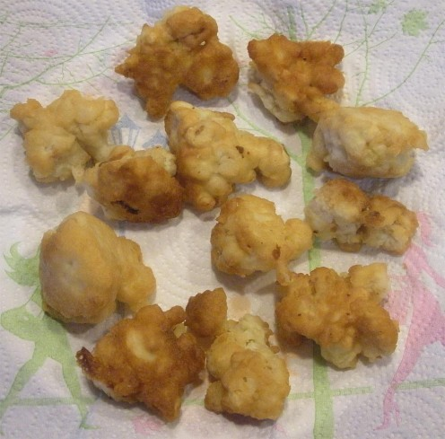 Fried cauliflower is a unique treat