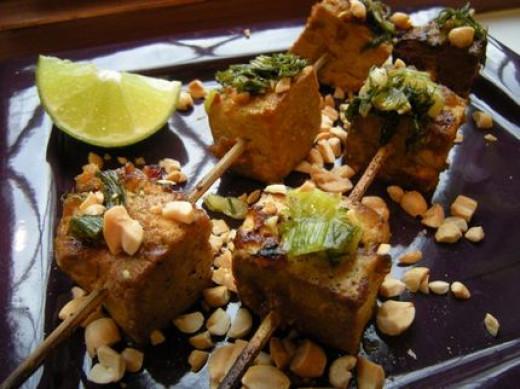 North vietnamese BBQ Tofu