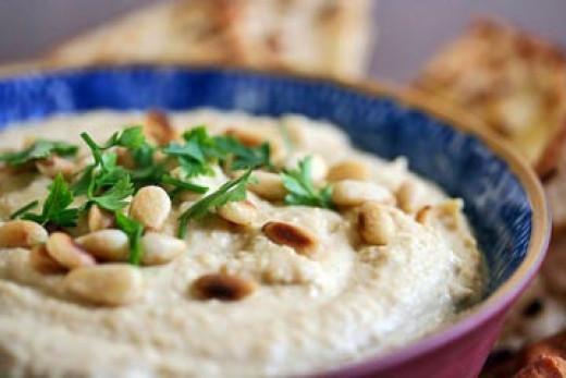 Garbanzo bean Hummus